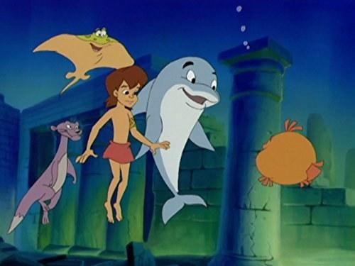 Flipper, Lopaka, Ottie, Ray and Puffy