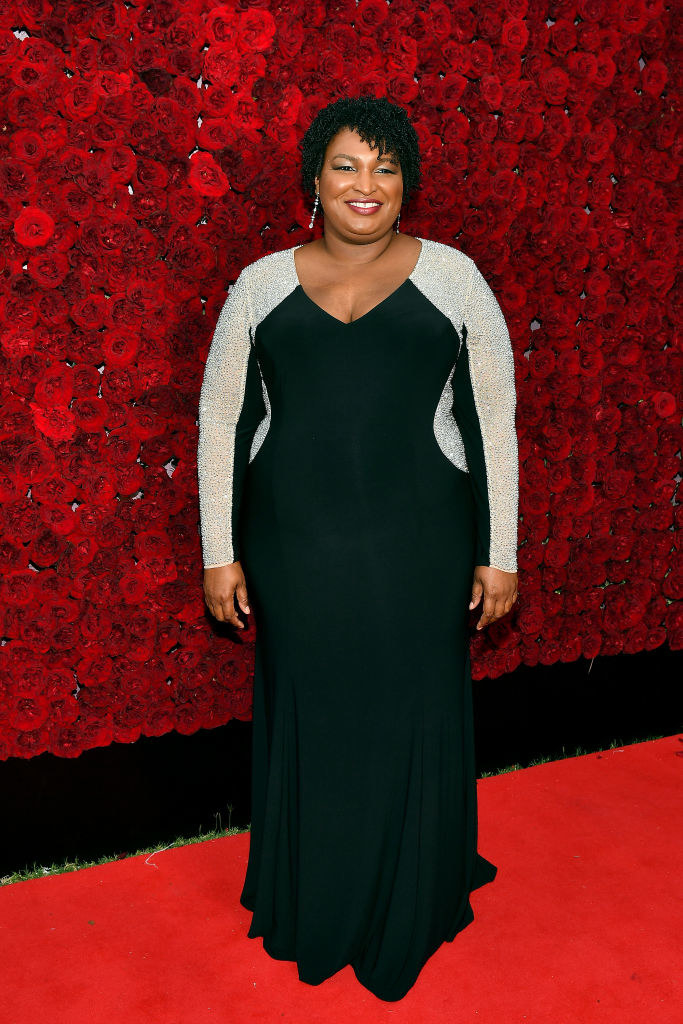 Stacey Abrams attends Tyler Perry Studios grand opening gala at Tyler Perry Studios