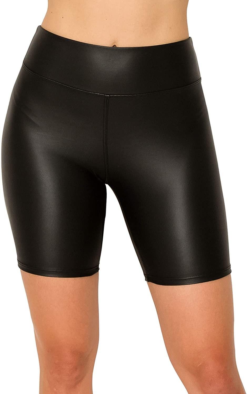 model's torso wearing bike shorts