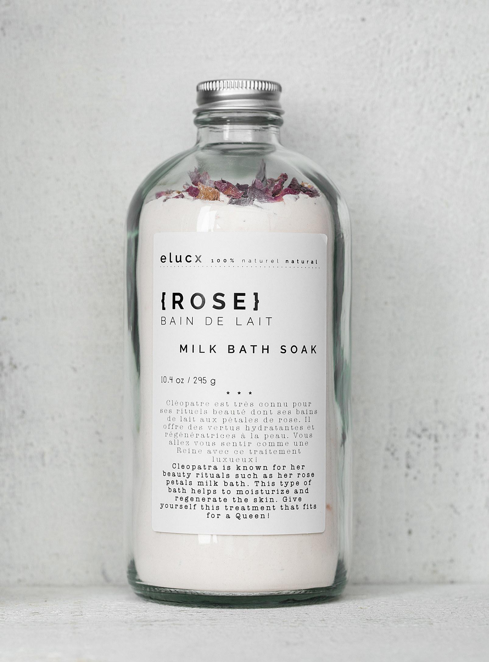 the bottle of bath soak