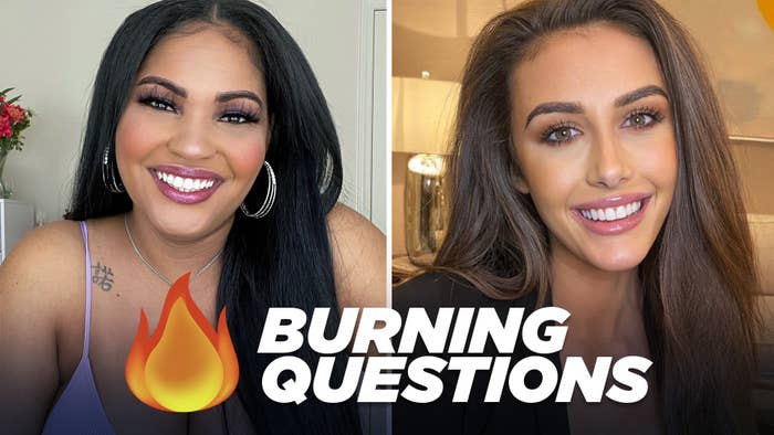 DeLeesa and Chloe from Netflix's The Circle answering Burning Questions