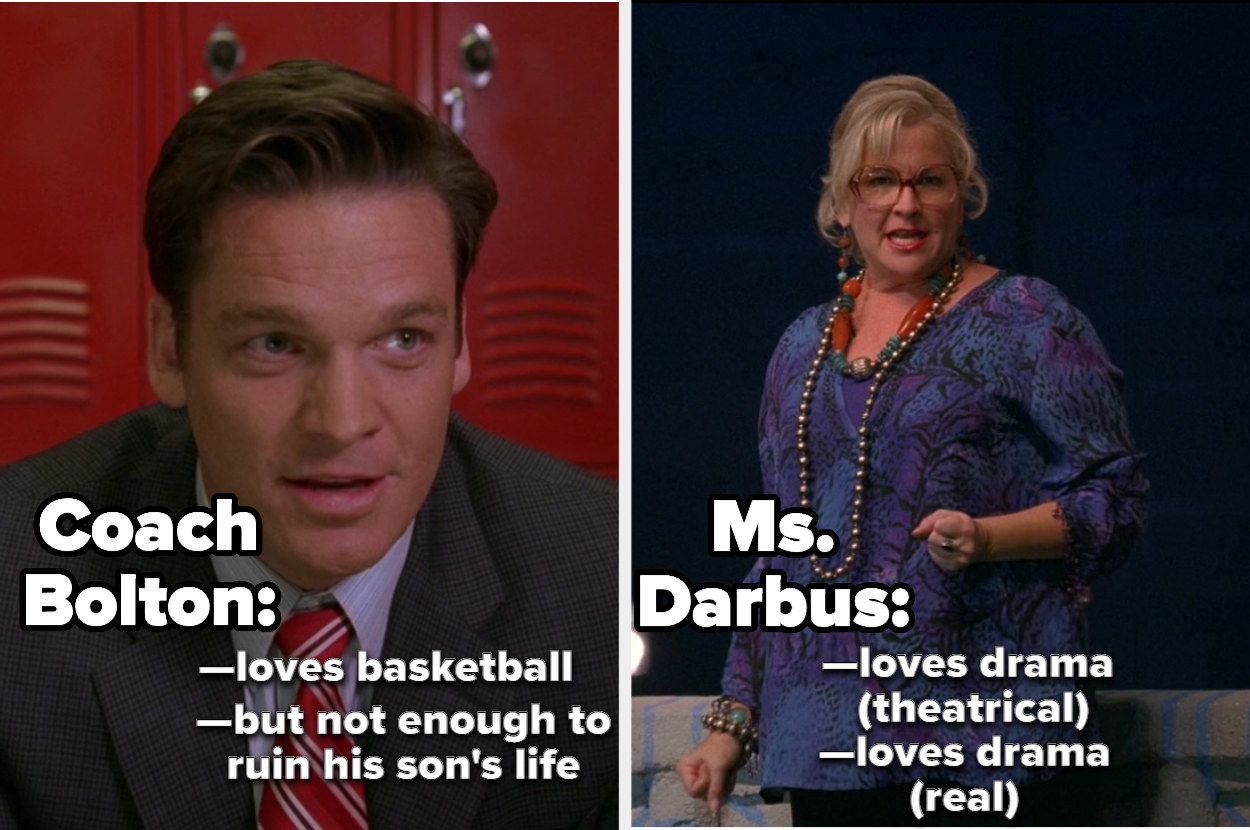 Coach Bolton and Ms. Darbus