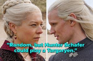 Princess Rhaenyra Targaryen & Prince Daemon Targaryen
