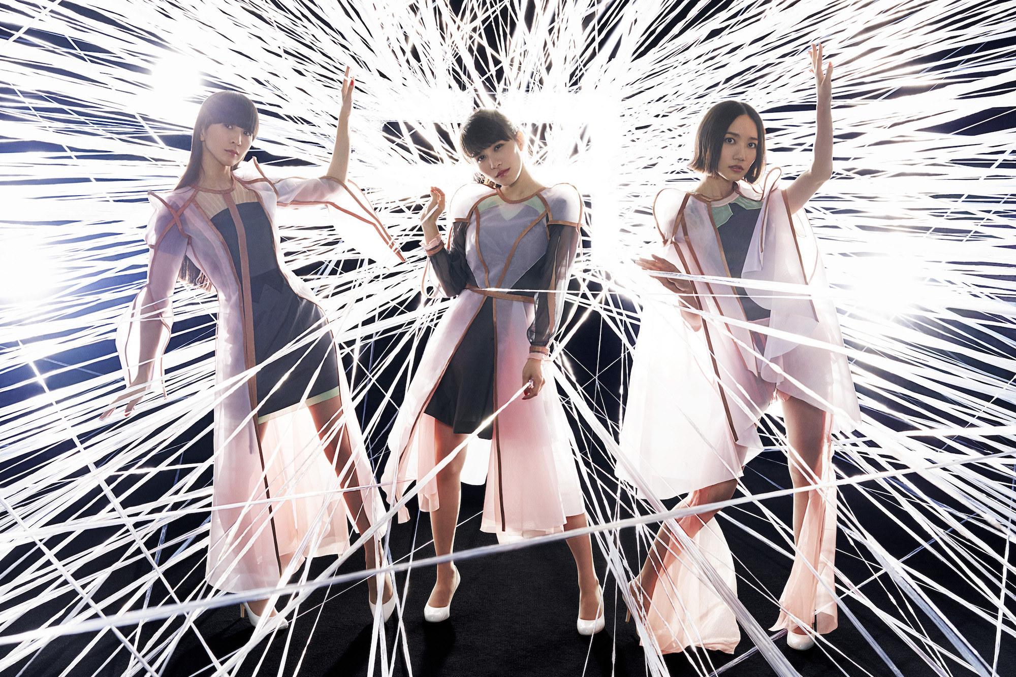 The three members of Perfume