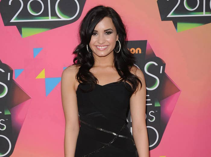 Demi at an event in 2010