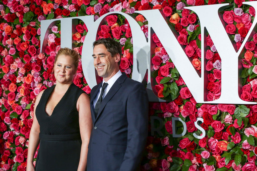 Amy Schumer and Chris Fischer attend the 72nd Annual Tony Awards
