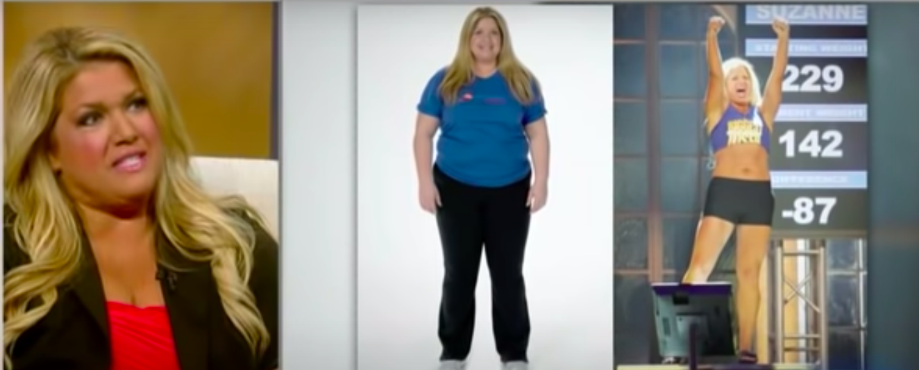 She lost over 100 pounds on the show but it wasn't worth the emotional turmoil