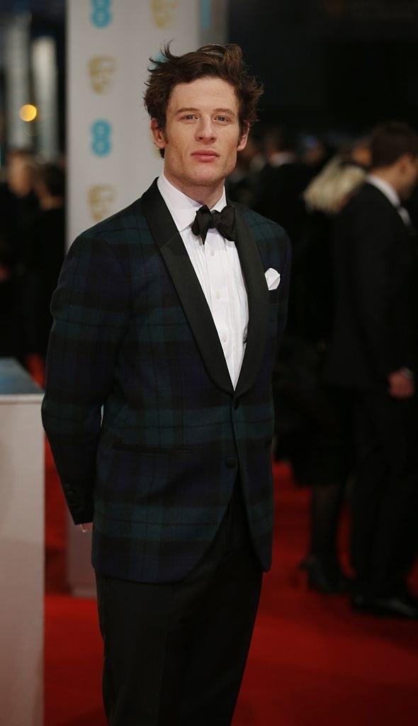 James Norton posing on the red carpet