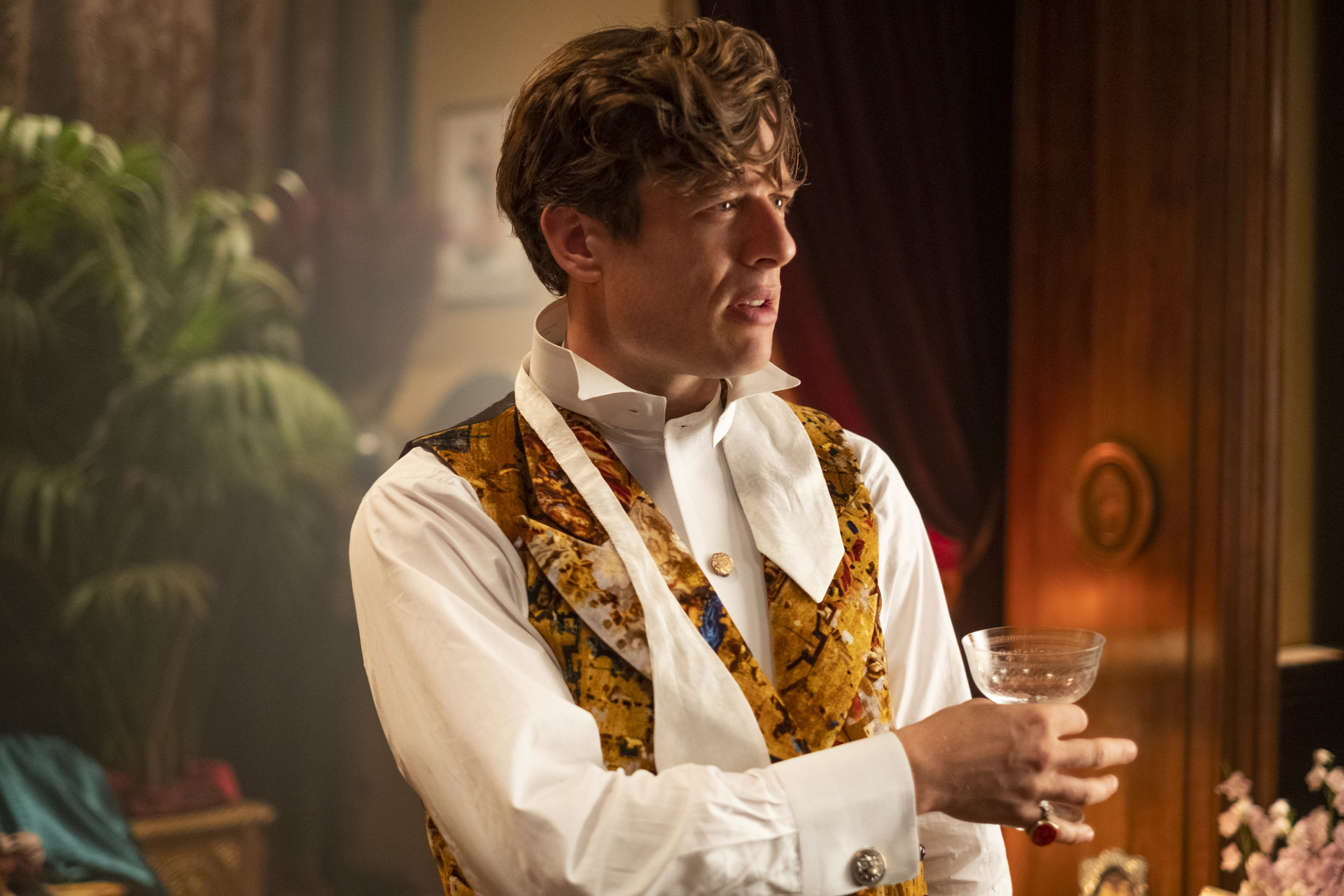 James Norton as Hugo Swann in The Nevers
