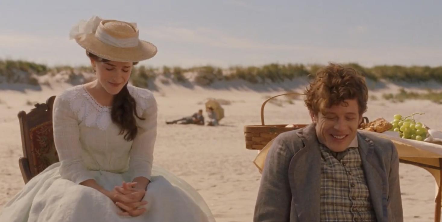 Emma Watson and James Norton in Little Women 2019