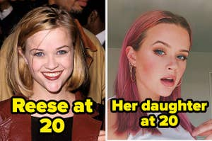 reese witherspoon and her lookalike daughter