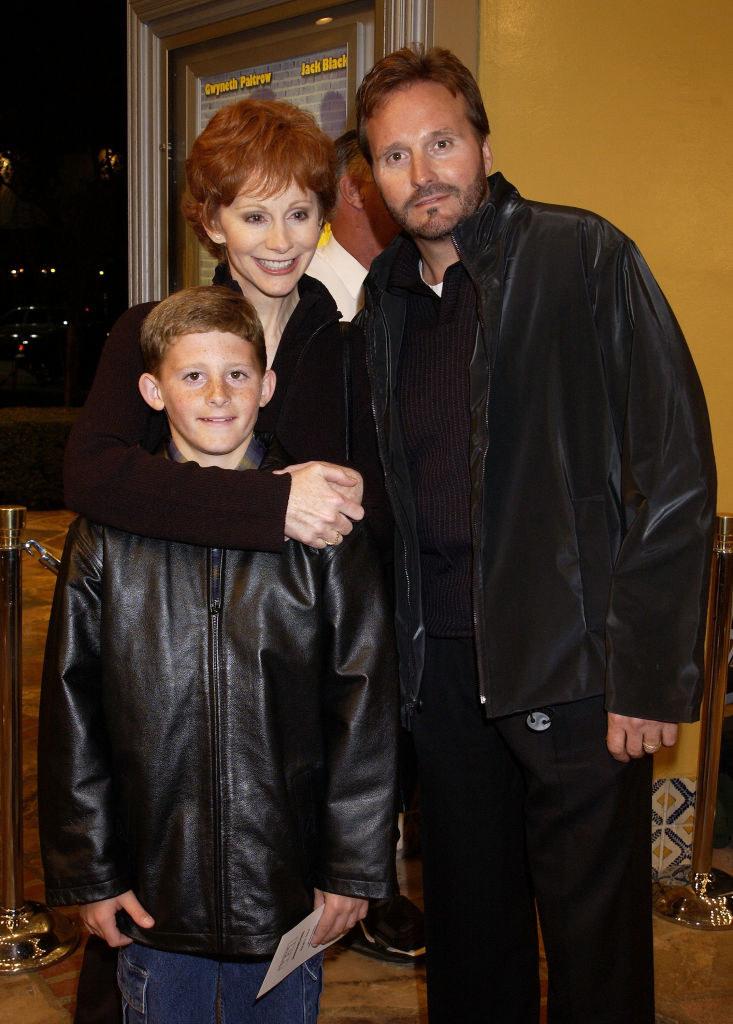 Reba, her son, and narvel