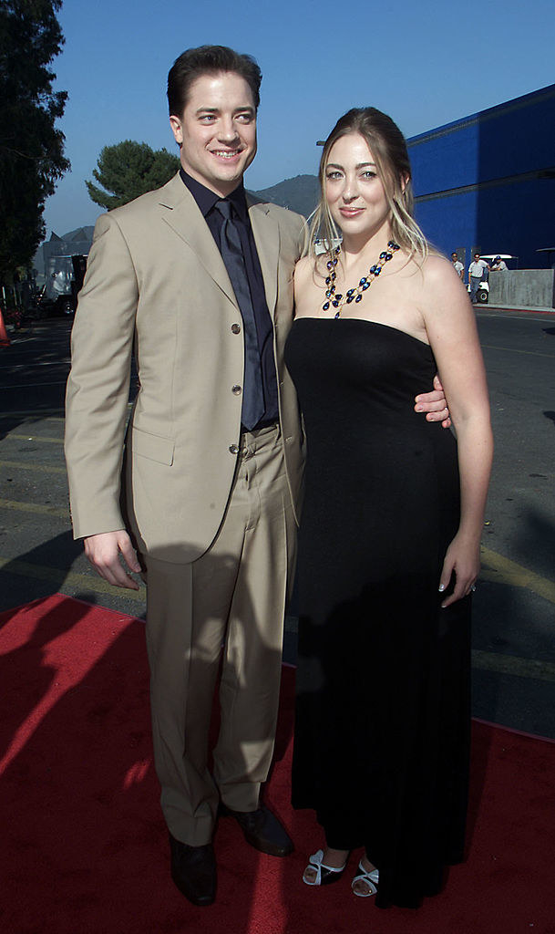 Brendan Fraser and Afton Smith in happier times