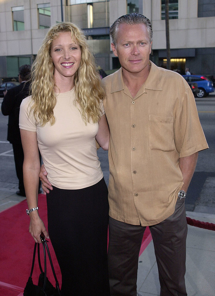 Lisa Kudrow and Michael Stern in hollywood