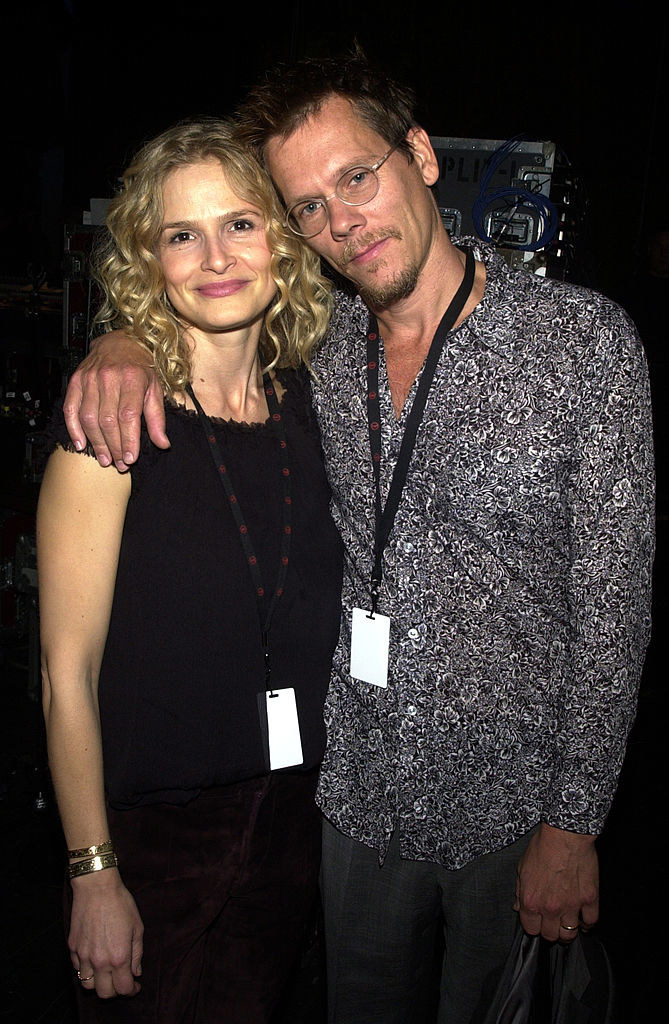 Kyra Sedgwick and Kevin Bacon happy as always