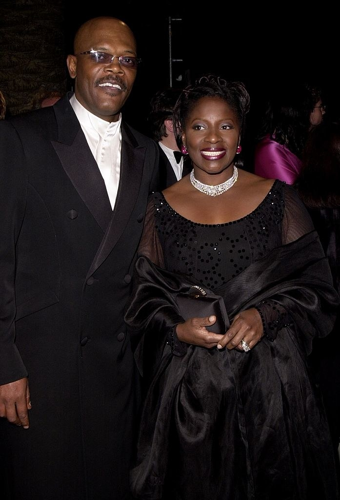 Samuel L and LaTanya Richardson on a red carpet