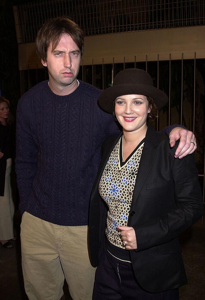 Tom Green and Drew Barrymore being big ole dorks