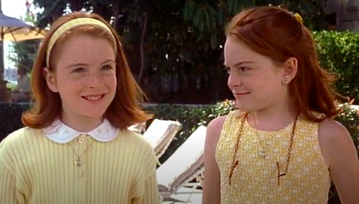 """Lindsay Lohan as Hallie and Annie in """"The Parent Trap"""""""