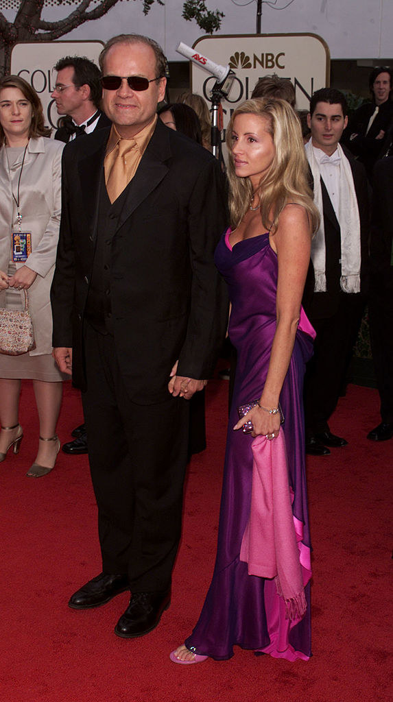 Kelsey Grammer and Camille Grammer at the Golden Globes