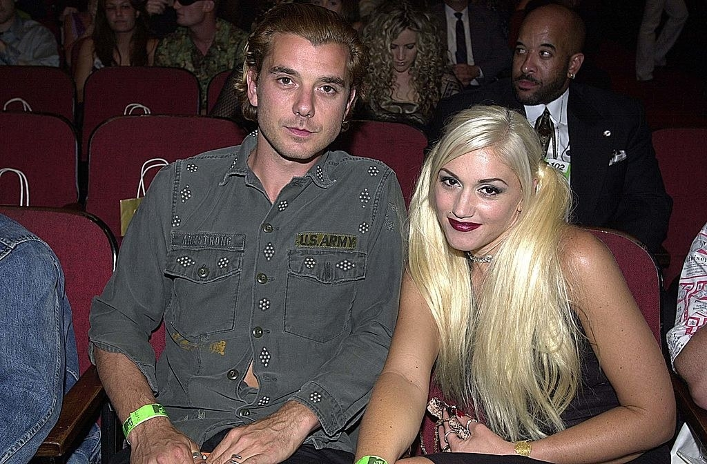 Gavin Rossdale and Gwen Stefani at the VMAs