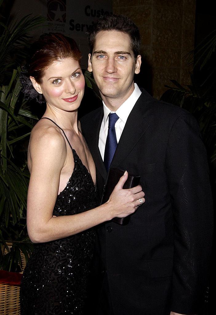 Debra Messing and Daniel Zelman in happier times
