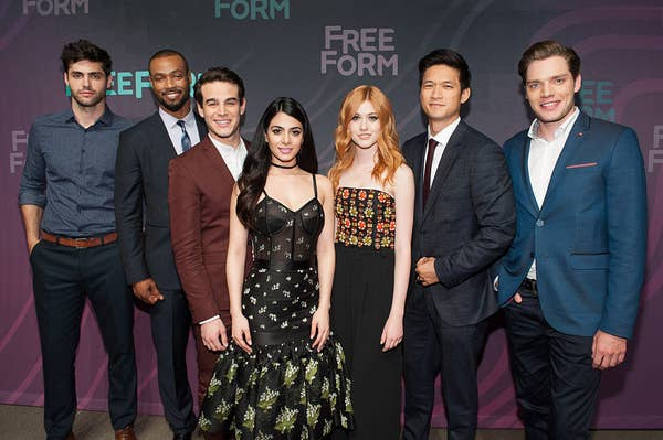 """The cast of """"Shadowhunters"""""""