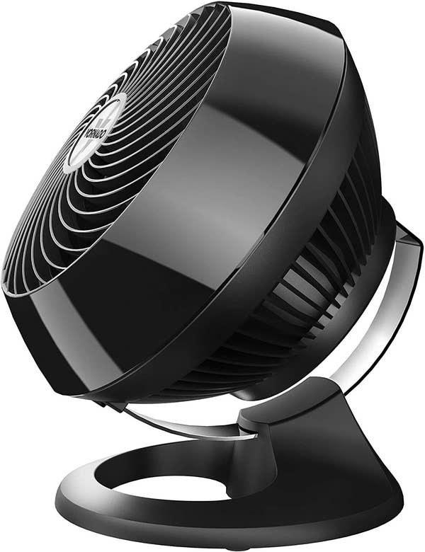The black fan