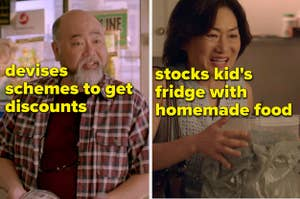 Appa Devises计划获得折扣和umma股票,她的孩子冰箱用自制食物