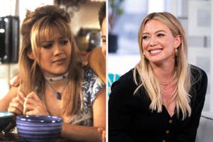 hilary duff as Lizzie mcguire/hilary duff in 2019