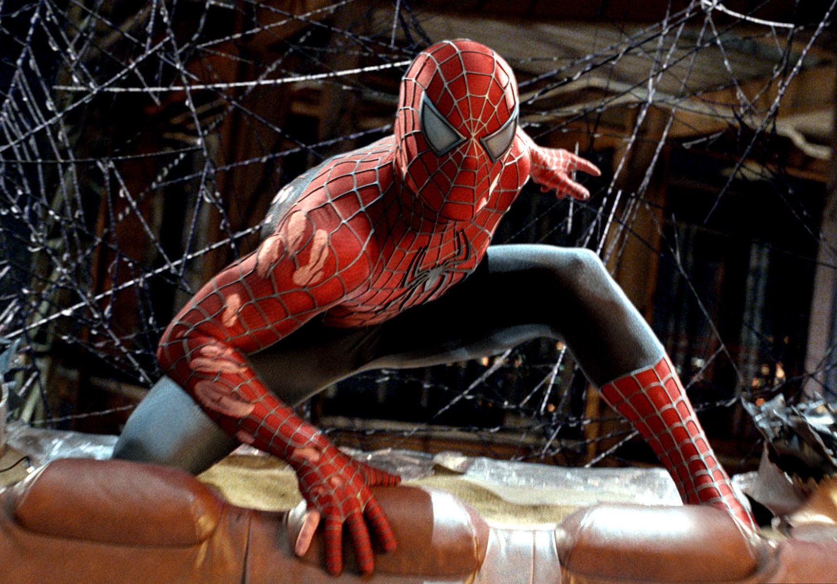 Spider-Man in costume