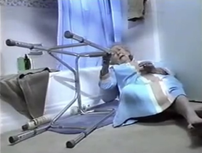 Still of Edith Fore from Life Call commercial