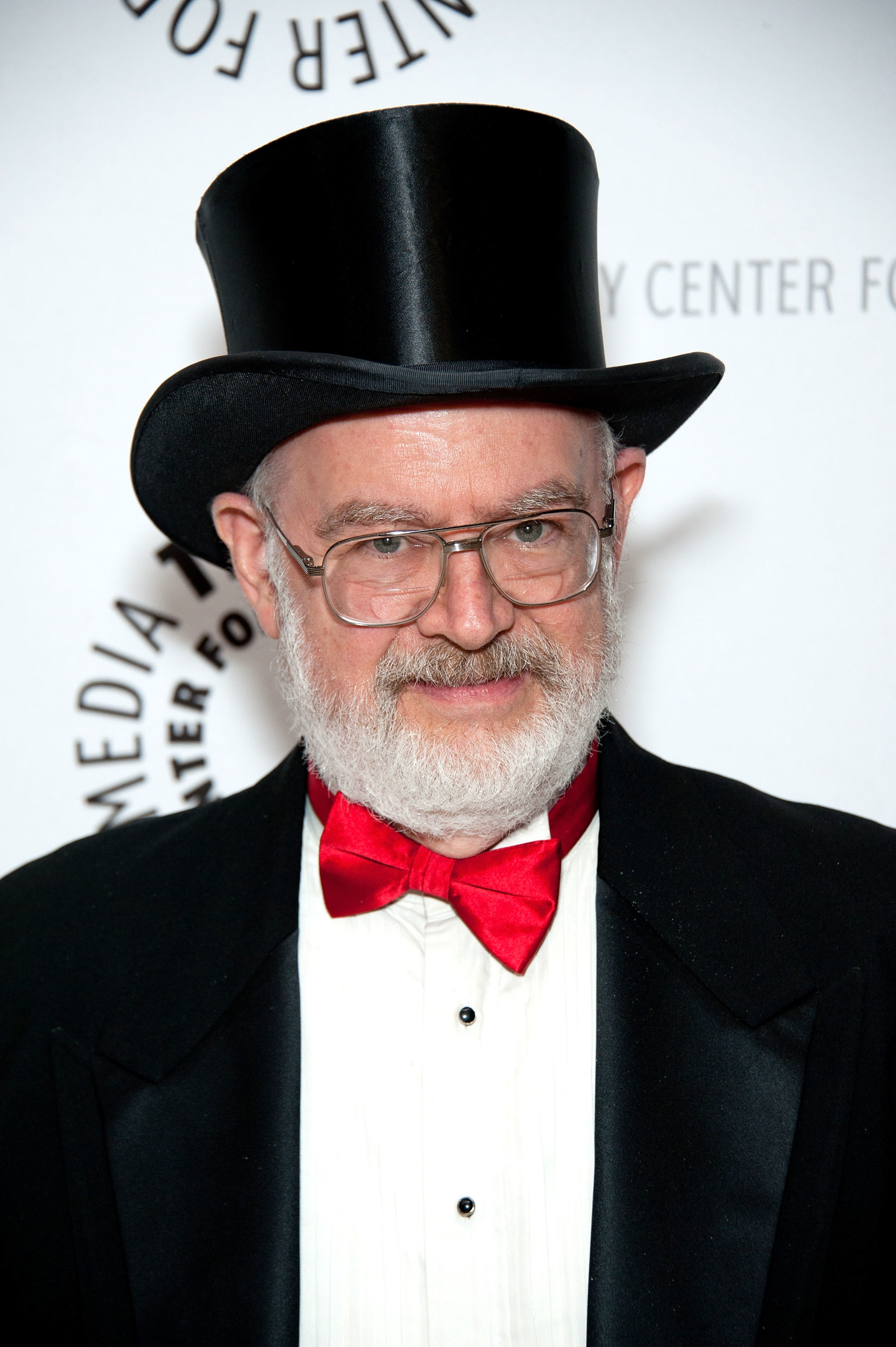 Photo of Dr. Demento in a classic suit and top hat