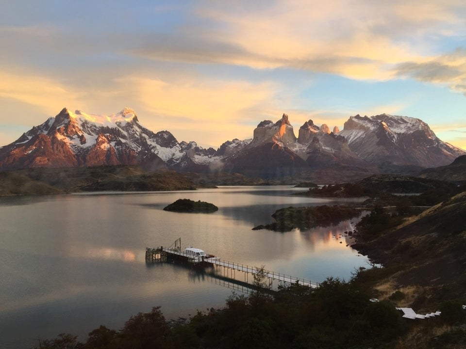 A view of Torres del Paine National Park in Chile