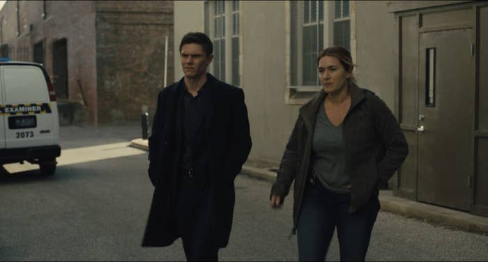 Colin and Mare walking together