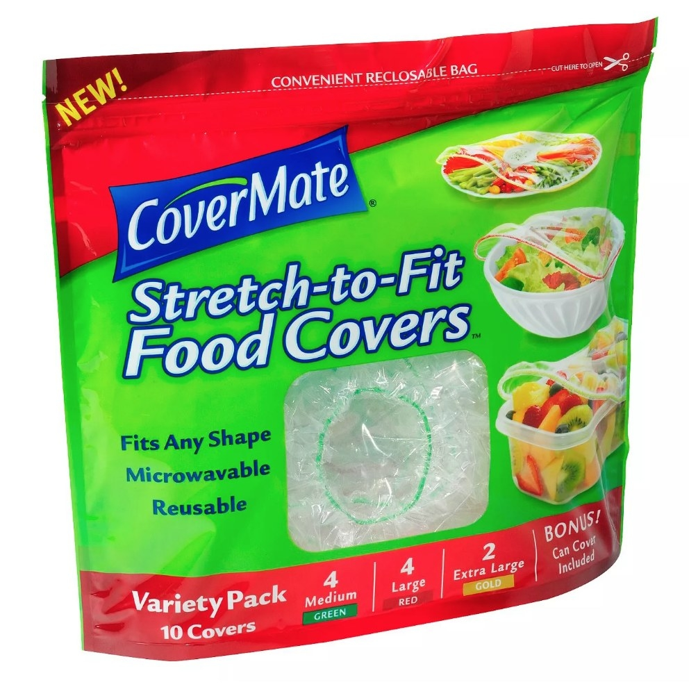 CoverMate plastic food cover pack