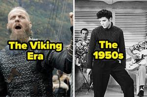 Viking时代和20世纪50年代既颂扬时间