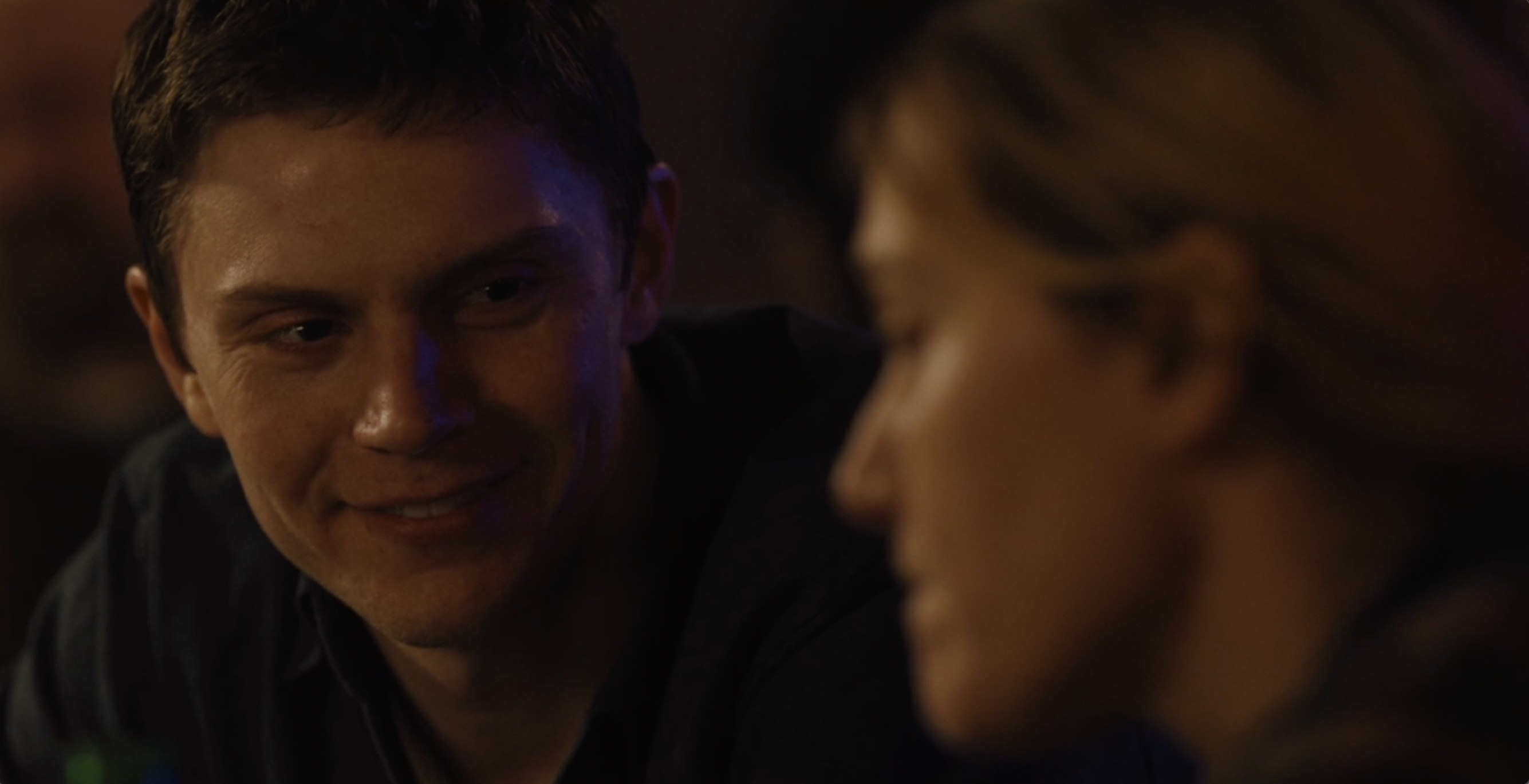 Colin smiling at Mare