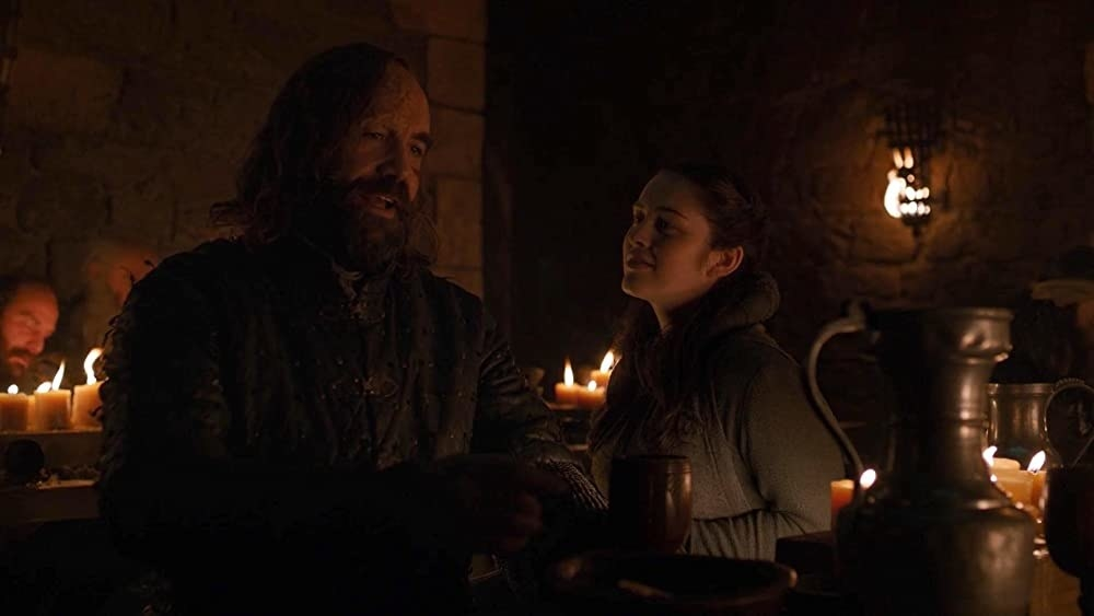 Danielle Galligan in The Last of the Starks