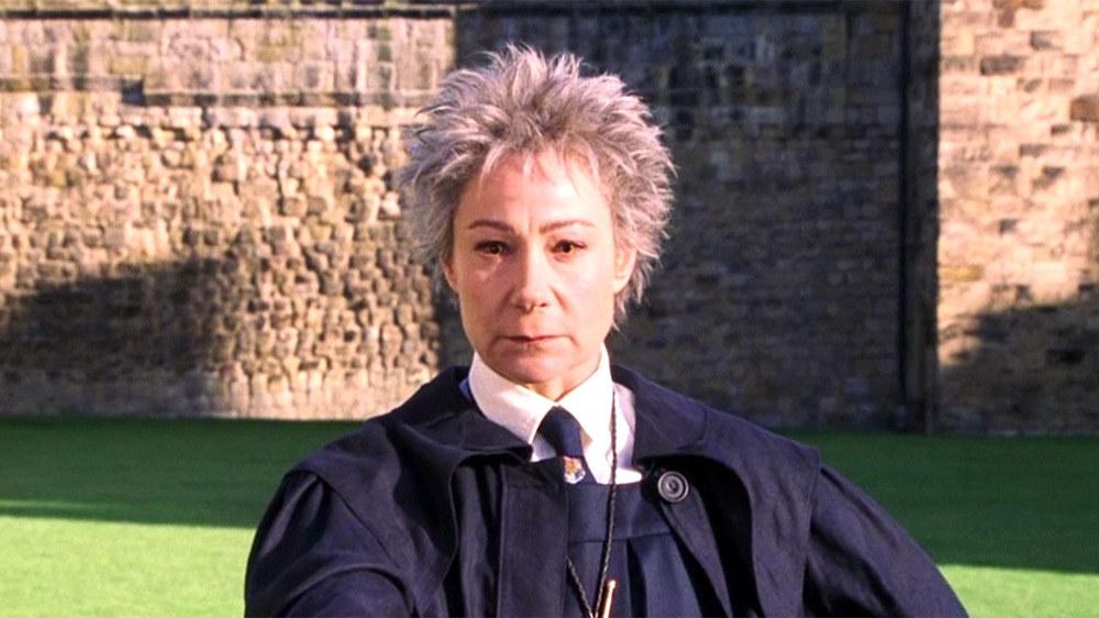 Zoë Wanamaker in Harry Potter