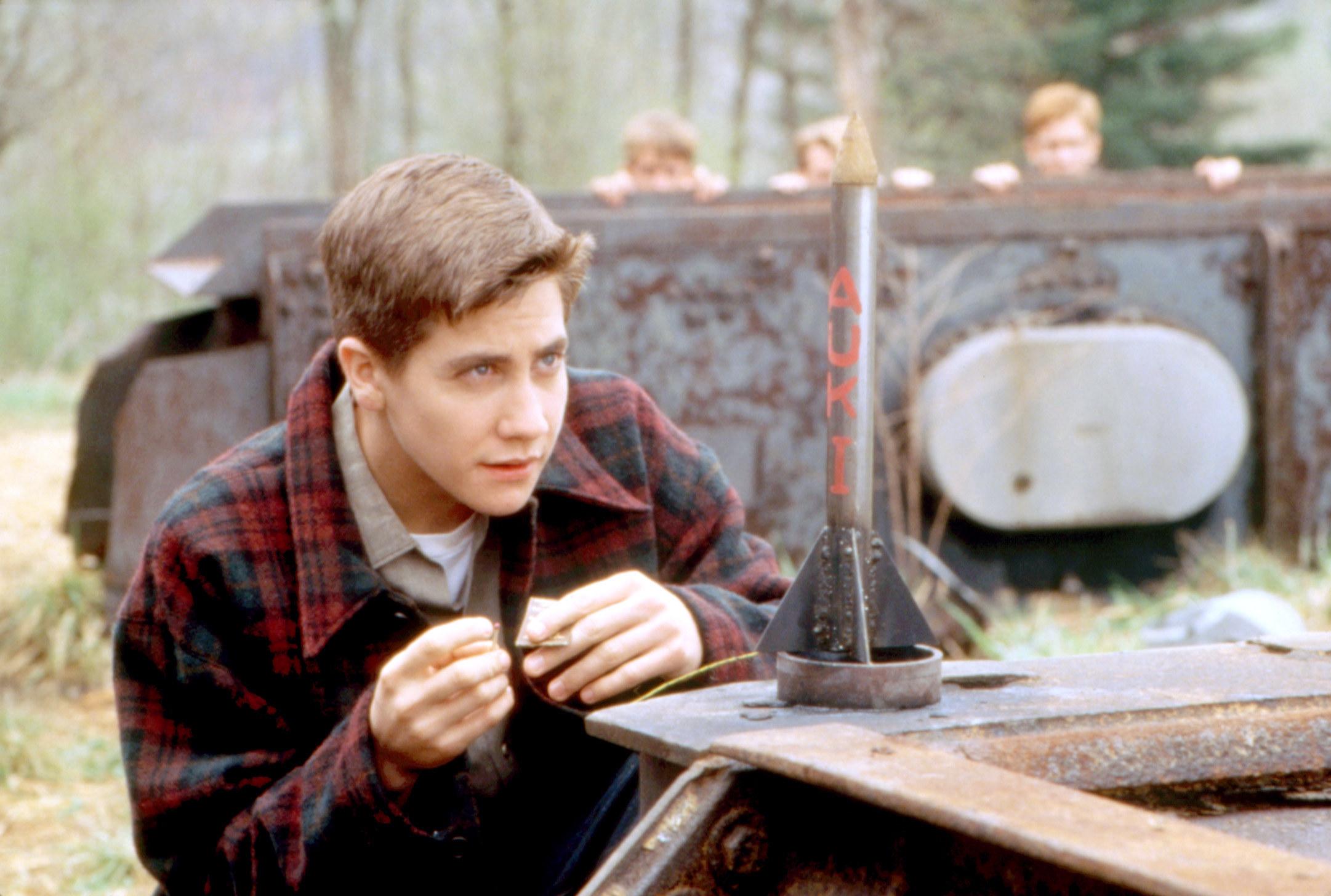 Jake Gyllenhaal in 1999's October Sky