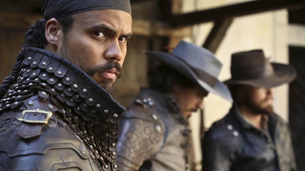 Howard Charles in The Musketeers