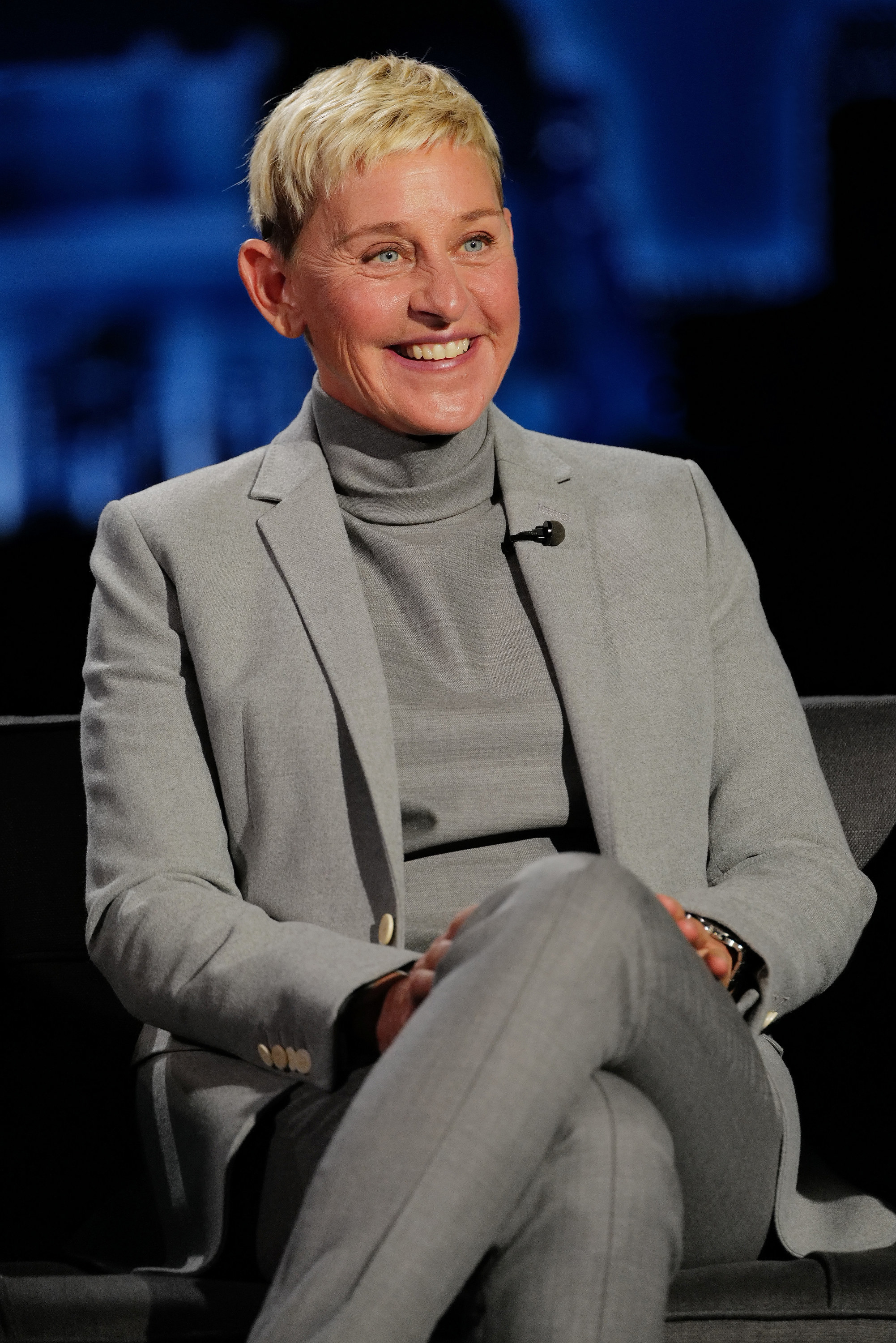 in a different suit on jimmy kimmel