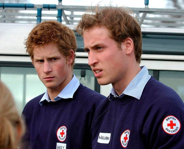with prince william