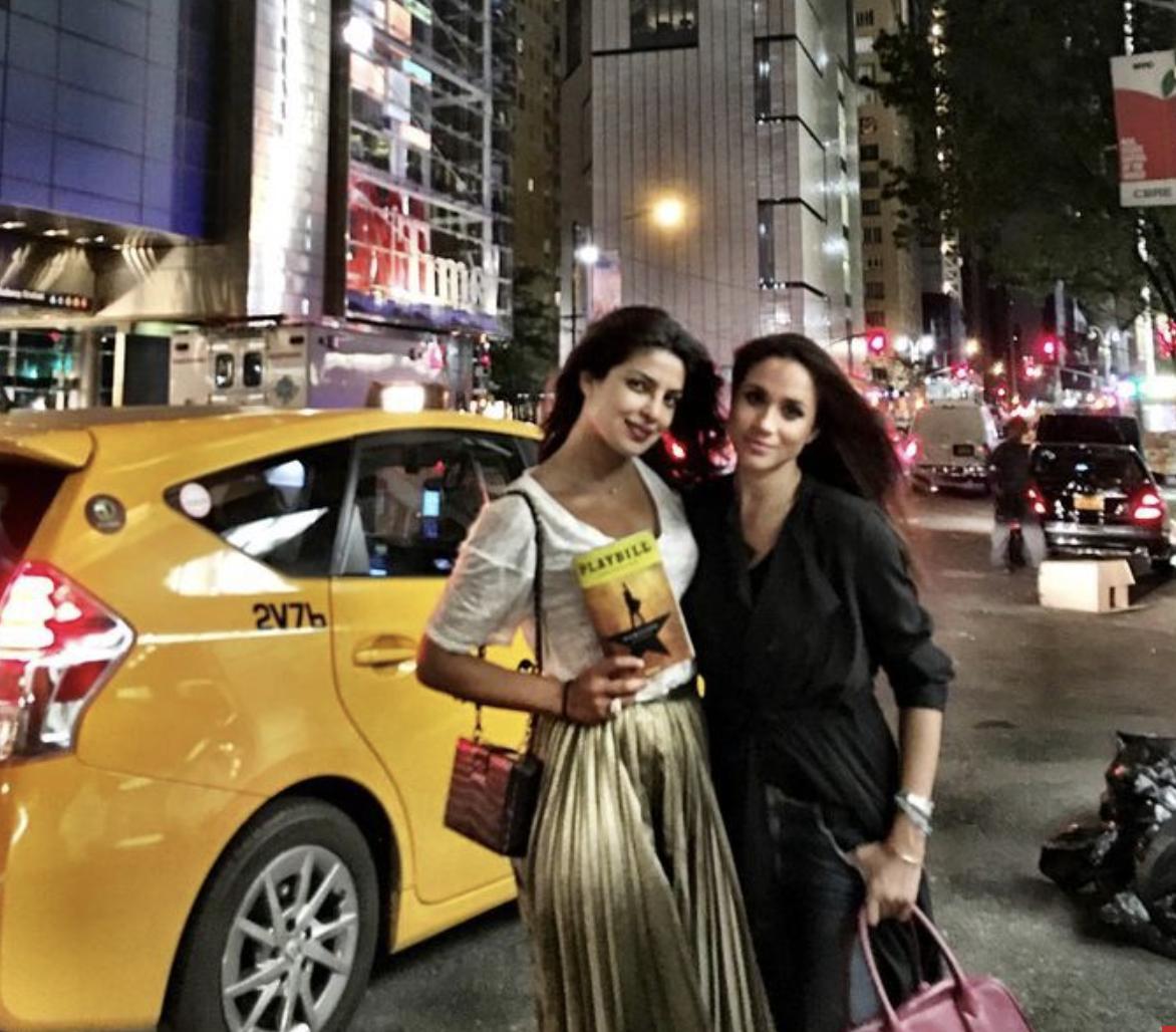 Meghan and Priyanka seeing Hamilton
