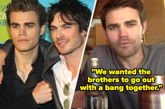 Ian Somerhalder And Paul Wesley Both Wanted Their Characters To Die At The End Of
