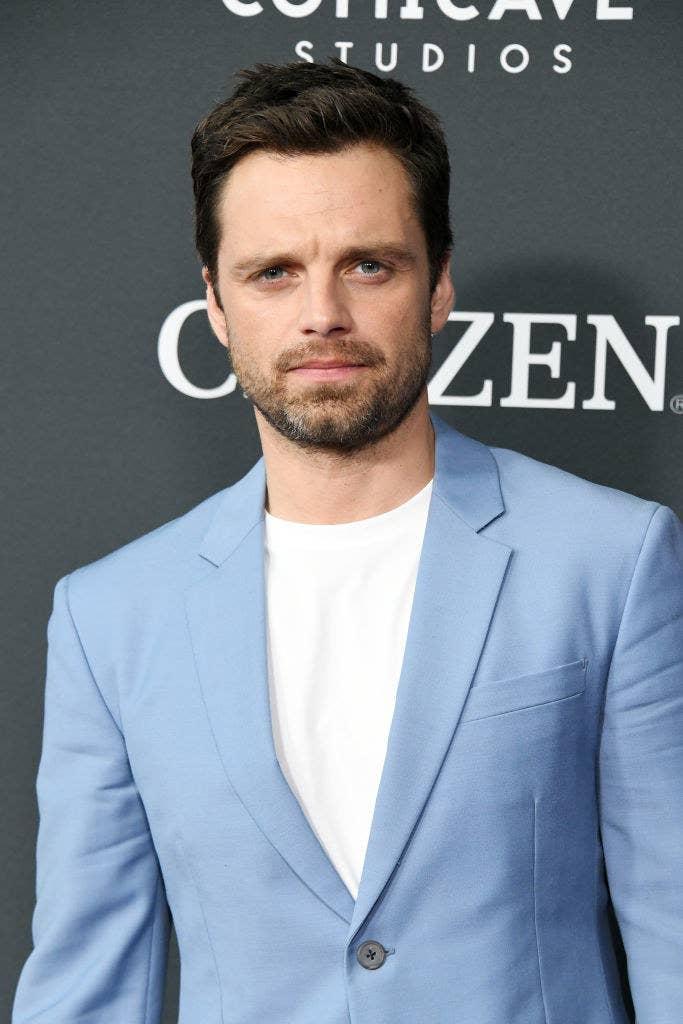 Sebastian wearing a blazer and shirt