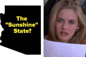 从无知看起来很困惑和亚利桑那州的概述与文本