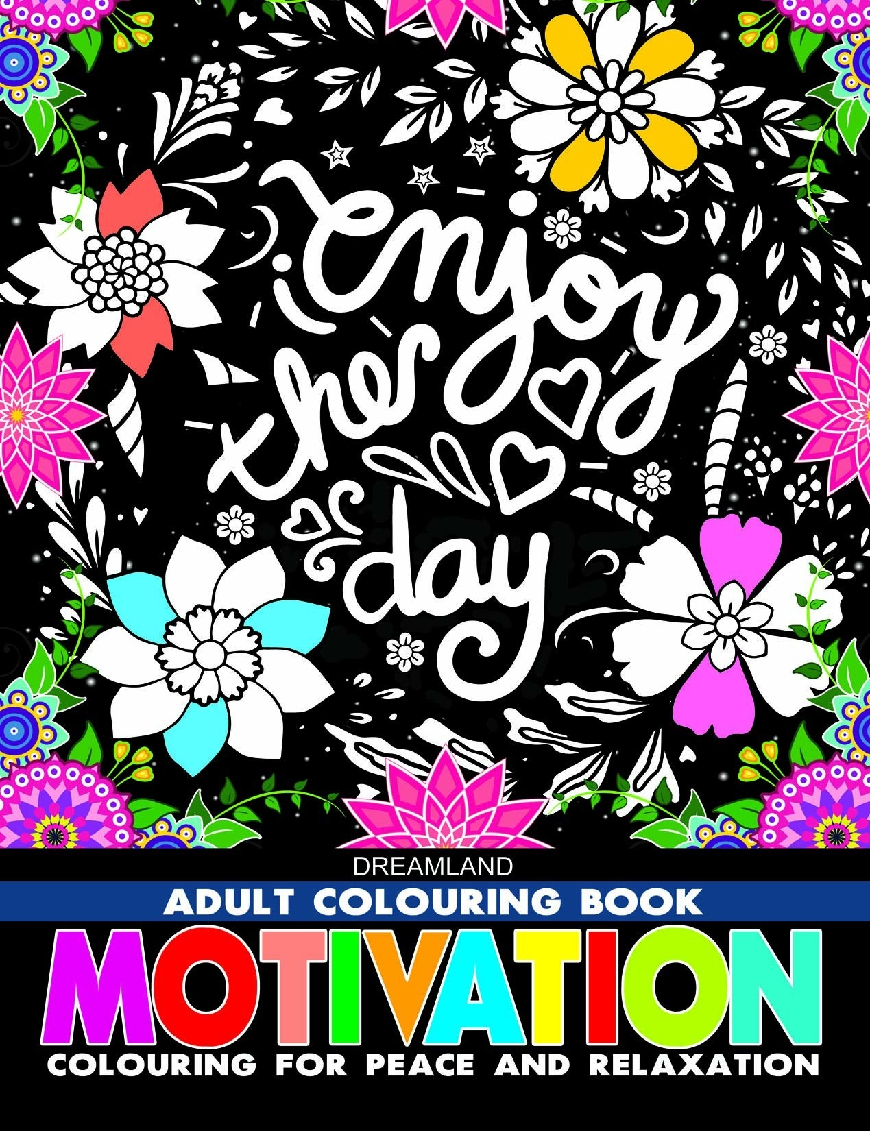 Cover of the colouring book