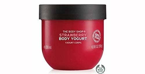Strawberry Body Yogurt from The Body Shop