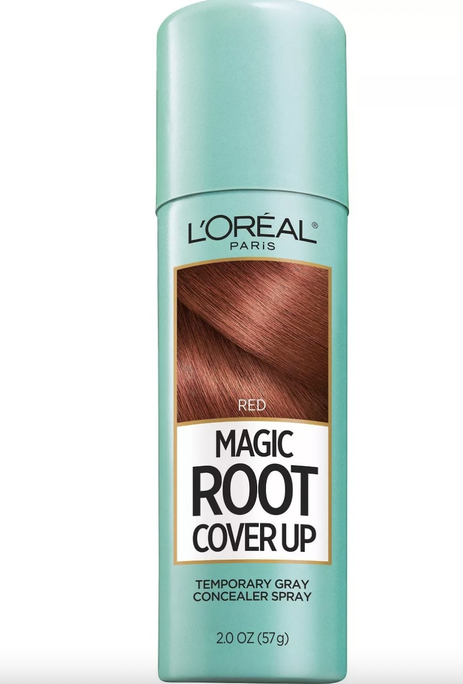 A can of hair color